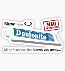 New from Q - Dentonite Sticker