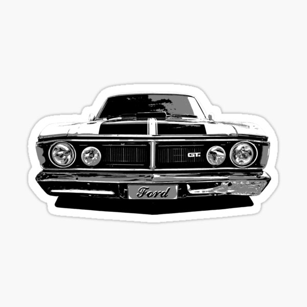 Ford Falcon XY GTHO Sticker