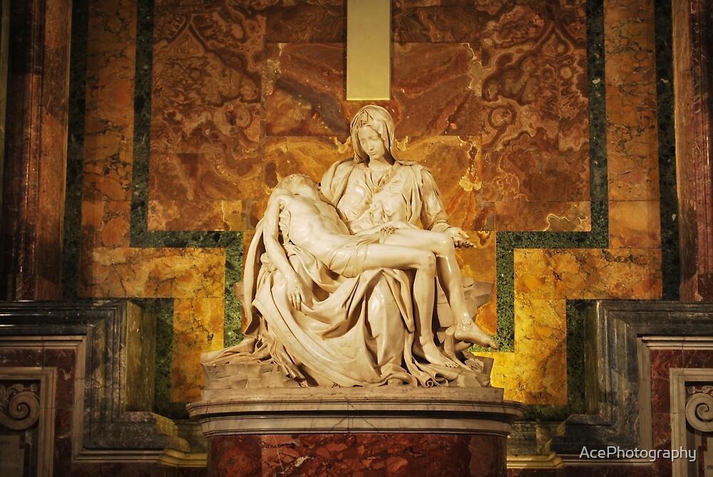 Michelangelo's Pietà - Vatican City by AcePhotography