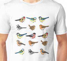 The birds are still singing Unisex T-Shirt