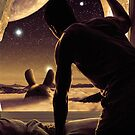 Totoro Science Fantasy Dreamscape by Zach Murray
