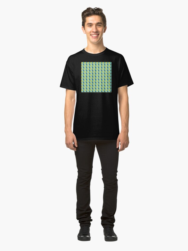 Alternate view of Geometric Pattern: Octagon: Spring Classic T-Shirt