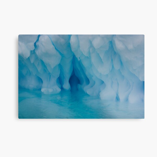 All shades of blue Metal Print