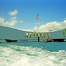 Arizona Memorial, Pearl Harbor, Honolulu, Hawaii by TonyCrehan