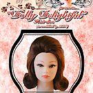 DOLLY DELIGHTFUL - BUBBLE FLIP by LizSelleyArt