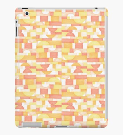 Orangeometries #redbubble #pattern iPad Case/Skin