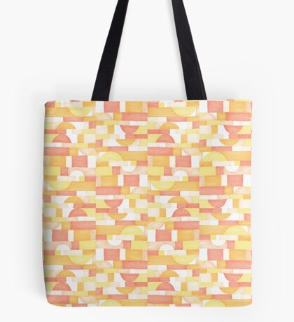 Orangeometries #redbubble #pattern Tote Bag