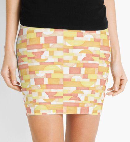 Orangeometries #redbubble #pattern Mini Skirt