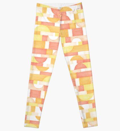 Orangeometries #redbubble #pattern Leggings