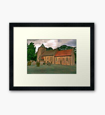 St John of Beverley Church - Salton Framed Print