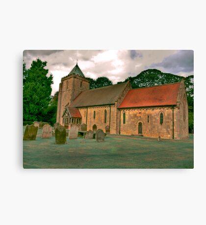 St John of Beverley Church - Salton Canvas Print