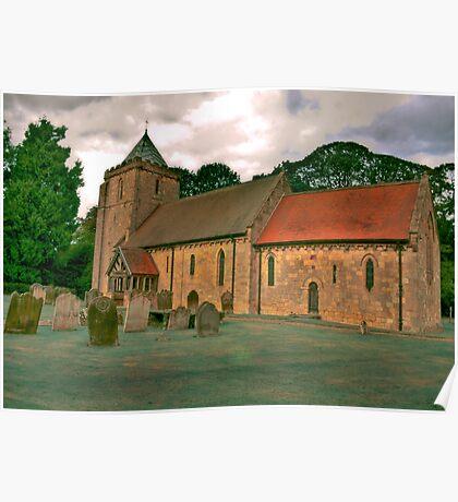 St John of Beverley Church - Salton Poster
