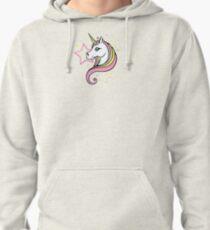 Unicorn and Stars Tee Pullover Hoodie