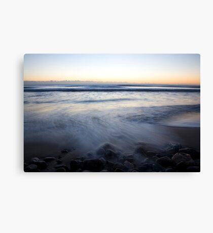Ballynaclash beach at dawn Canvas Print