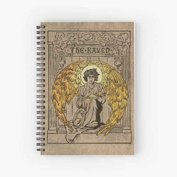 El Cuervo. Portada de la edición de 1884 Cuaderno de espiral
