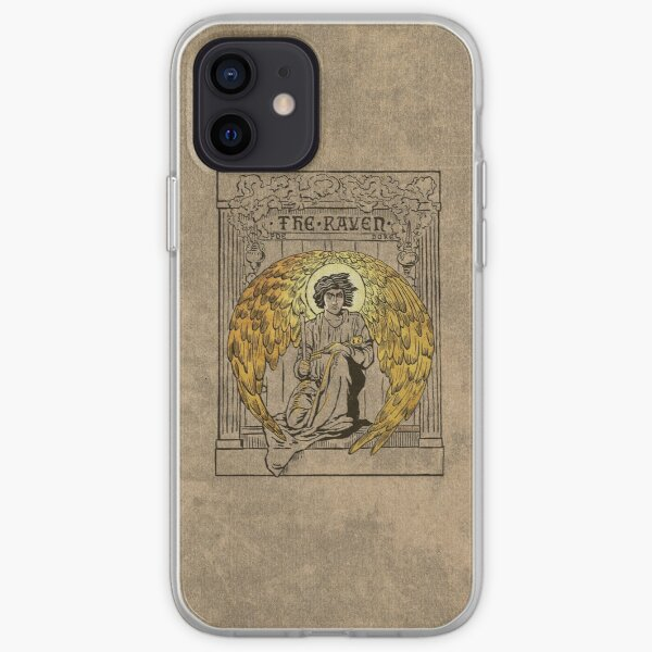 The Raven. 1884 edition cover iPhone Soft Case