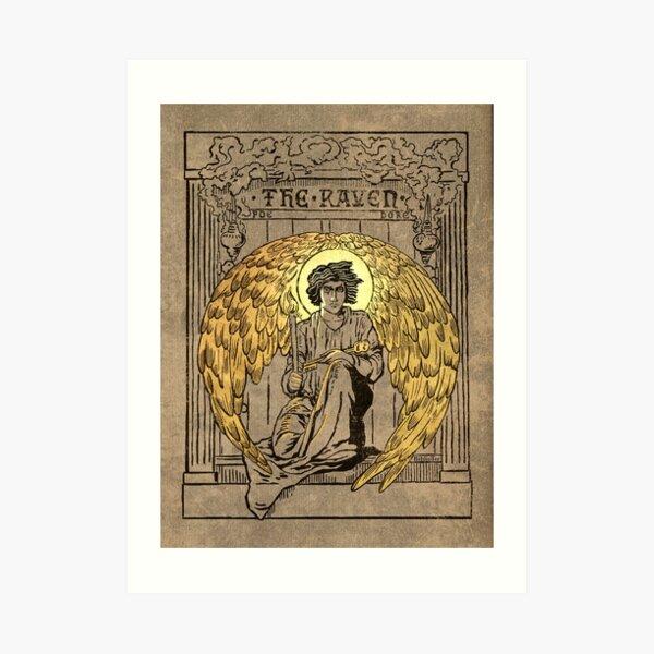 El Cuervo. Portada de la edición de 1884 Lámina artística