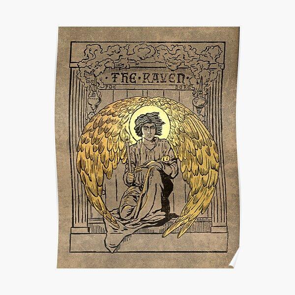 El Cuervo. Portada de la edición de 1884 Póster