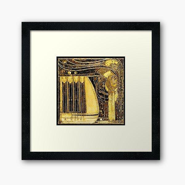 Opera Of The Winds. 1903. Margaret Macdonald Mackintosh. Glasgow Style. Glasgow School. Framed Art Print