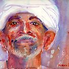 A Portrait A Day 35 - Egyptian by Yevgenia Watts