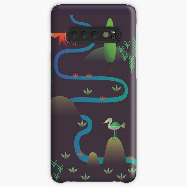 Landscape - Fox and Stream 2 (Pattern) Samsung Galaxy Snap Case