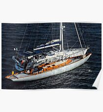 Two Yachts Poster