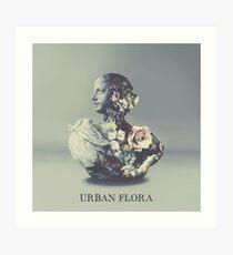 Alina Baraz & Galimatias - Urban Flora Art Print