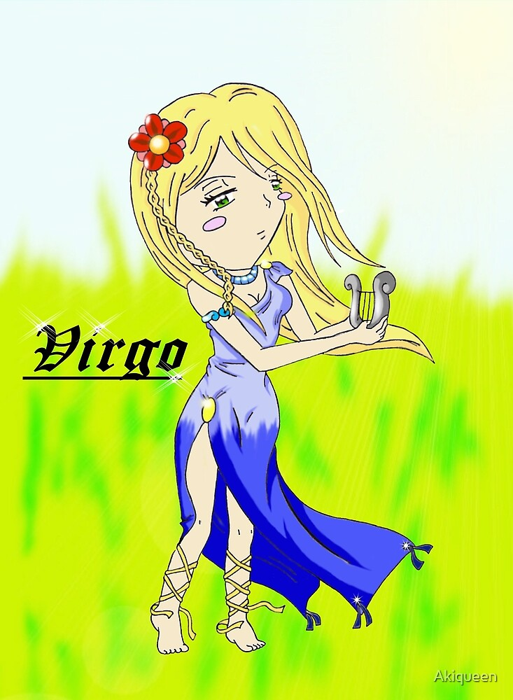 zodiac sign: Virgo* by Akiqueen