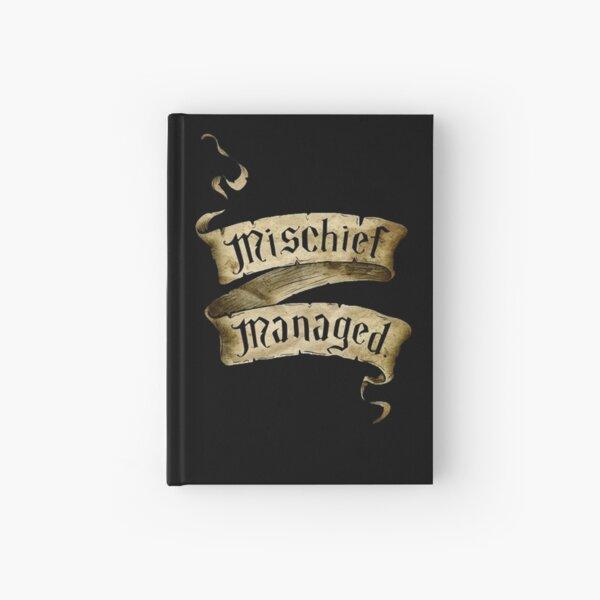 Mischief Managed Banner Hardcover Journal