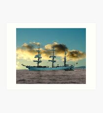 Ship of Dreams Art Print