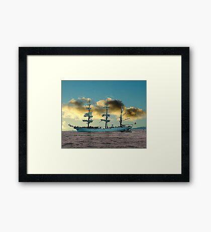Ship of Dreams Framed Print