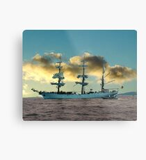 Ship of Dreams Metal Print