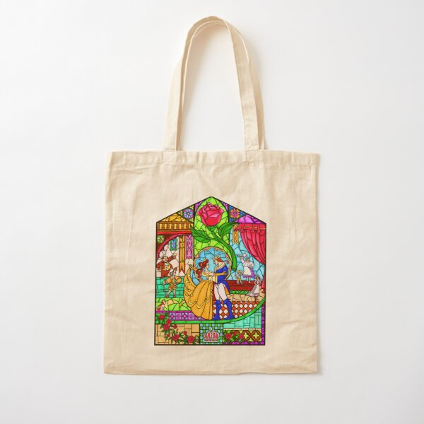 Patterns of the Stained Glass Window Cotton Tote Bag