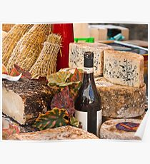 Wine & Cheese Poster