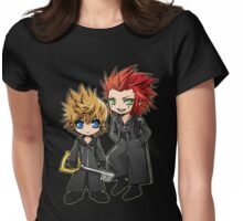 Roxas and Axel - Kingdom Hearts Womens Fitted T-Shirt