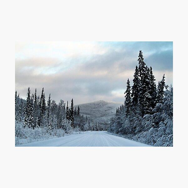 Trip into Winter 2 Photographic Print