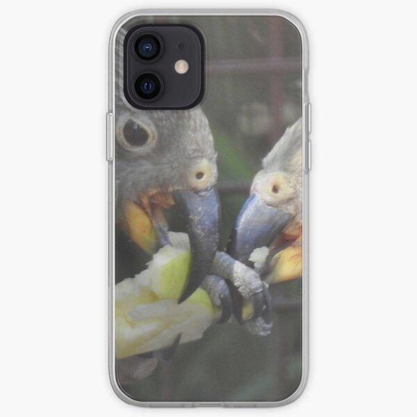 Kea - beak to beak  iPhone Soft Case