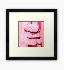 PINK VIBES  Framed Print