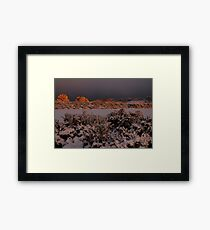 Low Light - Moray Golf Course Framed Print
