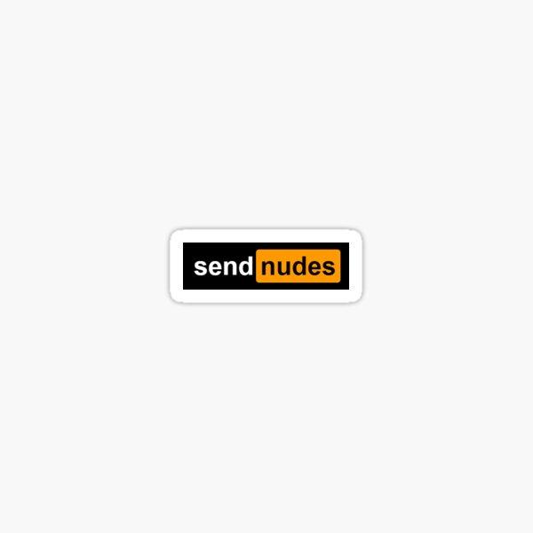 Envoyer nudes design  Sticker