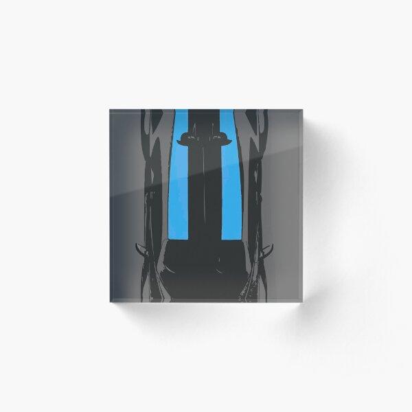 2021 Bugatti Chiron Super Sport 300+ Acrylic Block