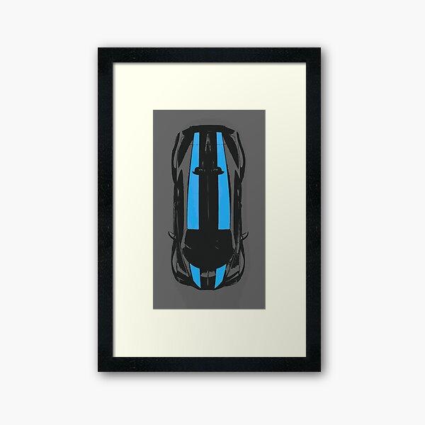 2021 Bugatti Chiron Super Sport 300+ Framed Art Print