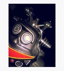 Retro Toy Robot Photographic Print