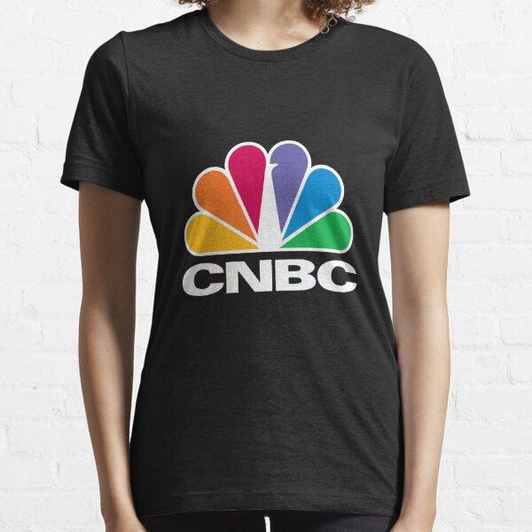 CNBC Logo - White Essential T-Shirt