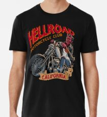 Höllenstraße Kalifornien-Motorradverein Premium T-Shirt