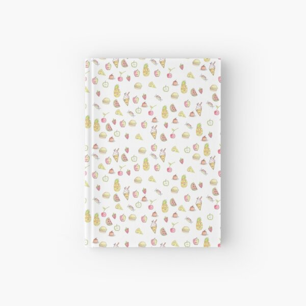 Kawaii Food, Fruit and Cakes by Jayne Kitsch Hardcover Journal