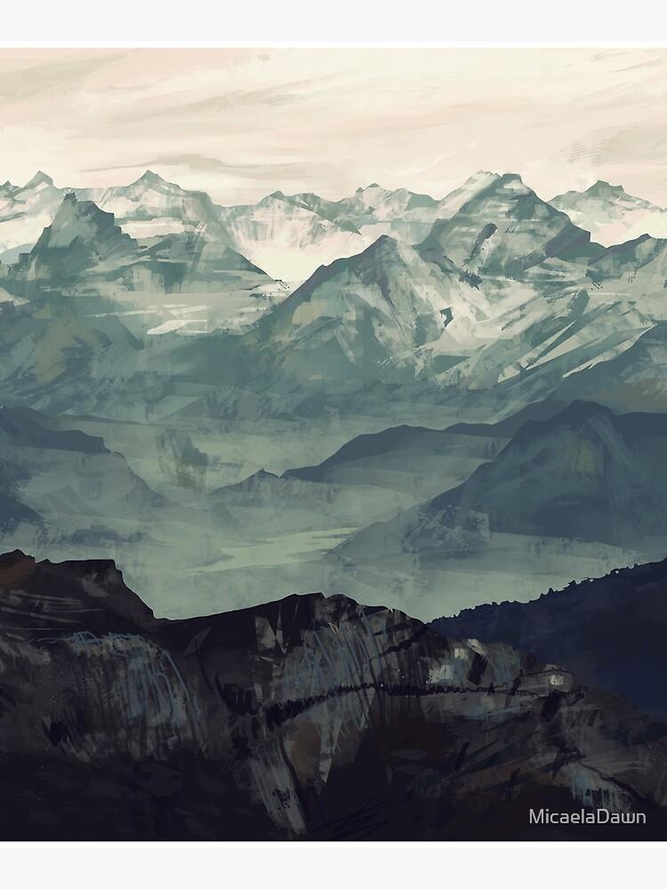 Mountain Fog by MicaelaDawn