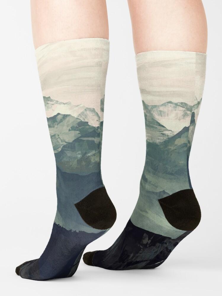Alternate view of Mountain Fog Socks