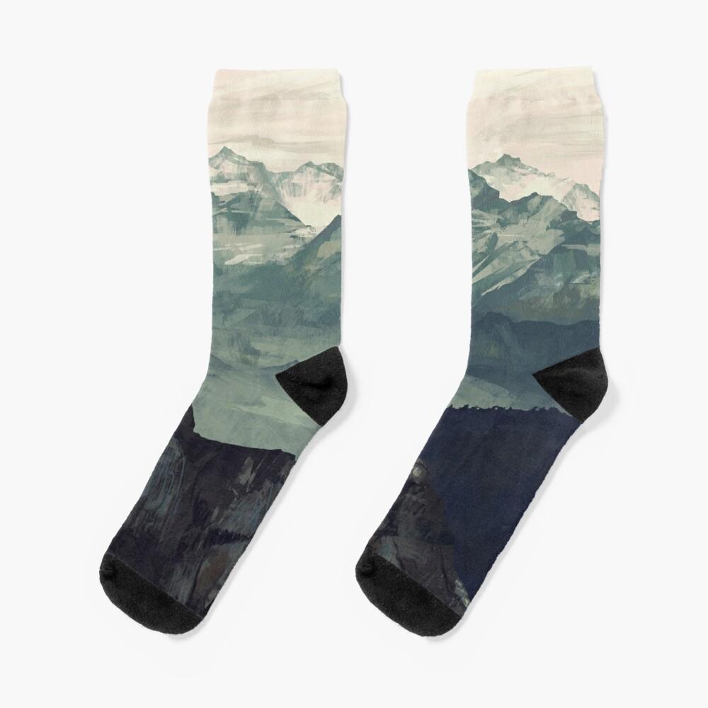 Mountain Fog Socks