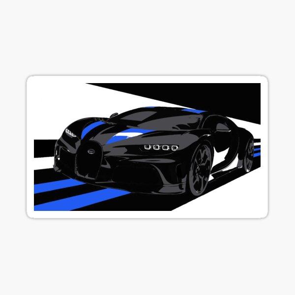 2021 Bugatti Chiron Super Sport 300+ Glossy Sticker